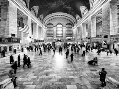 Grand Central Terminal at 42nd Street and Park Avenue in Midtown Manhattan in New York