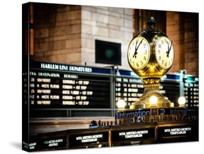 Grand Central Terminal's Four-Sided Seth Thomas Clock - Manhattan - New York