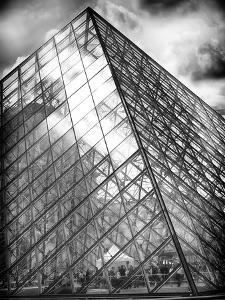 Grande Pyramide at the Louvre Museum, Paris, France by Philippe Hugonnard