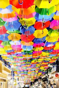 Iberian Negative Collection - Umbrellas Sky by Philippe Hugonnard