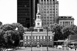 Independence Hall and Pennsylvania State House Buildings, Philadelphia, Pennsylvania, US by Philippe Hugonnard