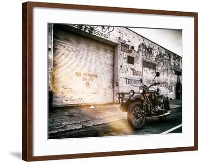 Instants of NY Series - Motorcycle Garage in Brooklyn - Manhattan - New York - United States - USA