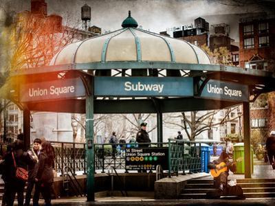 Instants of NY Series - Urban Scene