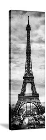Instants of Paris B&W Series - Eiffel Tower, Paris, France