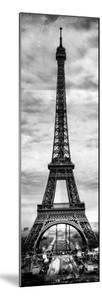 Instants of Paris B&W Series - Eiffel Tower, Paris, France by Philippe Hugonnard