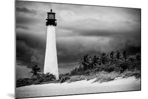 Key Biscayne Light House during a Tropical Storm - Miami - Florida by Philippe Hugonnard
