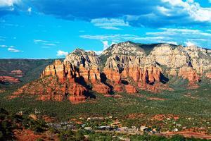 Landscape - Thunder Mountains - Sedona - Arizona - United States by Philippe Hugonnard