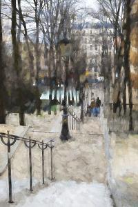 Les escaliers de Montmartre by Philippe Hugonnard