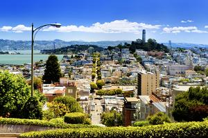 LombArt Street - Downtown - San Francisco - Californie - United States by Philippe Hugonnard
