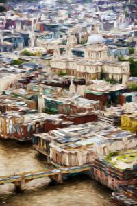 London Cityscape - In the Style of Oil Painting by Philippe Hugonnard