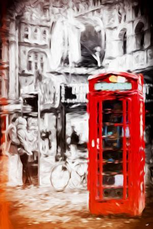 London Love - In the Style of Oil Painting