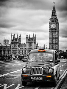 London Taxi and Big Ben - London - UK - England - United Kingdom - Europe by Philippe Hugonnard
