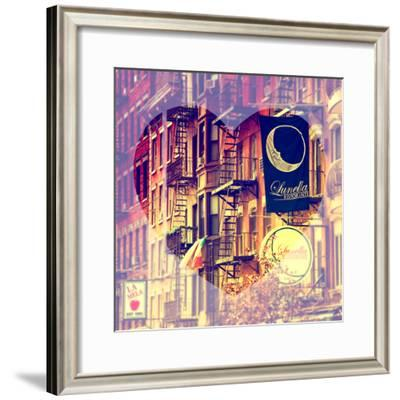 Love NY Series - Little Italy Buildings - Manhattan - New York - USA