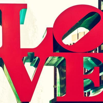 Love Park, Jfk Plaza, Museum of Art, Philadelphia, Pennsylvania, United States, Square by Philippe Hugonnard