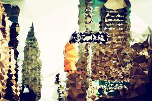 Low Poly New York Art - Chrysler Building II by Philippe Hugonnard