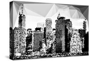 Low Poly New York Art - Colorful Facades by Philippe Hugonnard