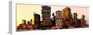 Low Poly New York Art - Manhattan Buildings by Philippe Hugonnard