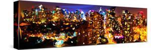 Low Poly New York Art - Manhattan Night by Philippe Hugonnard