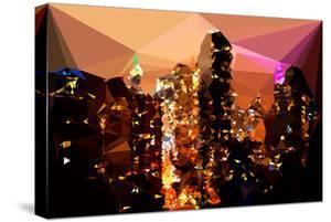 Low Poly New York Art - Midtown Manhattan by Philippe Hugonnard