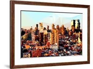 Low Poly New York Art - Midtown NYC by Philippe Hugonnard