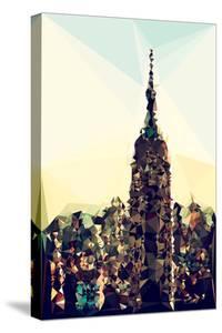 Low Poly New York Art - New York Skyline by Philippe Hugonnard