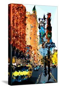 Low Poly New York Art - New York Traffic by Philippe Hugonnard