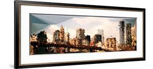 Low Poly New York Art - NYC Bridge by Philippe Hugonnard