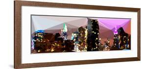 Low Poly New York Art - NYC by Night by Philippe Hugonnard