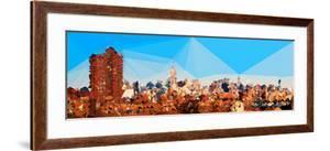 Low Poly New York Art - NYC Skyline by Philippe Hugonnard