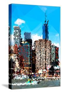 Low Poly New York Art - NYC Touch by Philippe Hugonnard