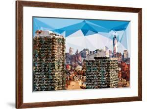 Low Poly New York Art - One World Trade Center II by Philippe Hugonnard