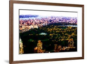 Low Poly New York Art - Skyline by Philippe Hugonnard