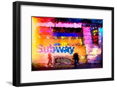 Low Poly New York Art - Subway Times Square