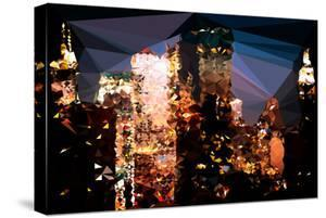 Low Poly New York Art - The Empire State Building and City by Philippe Hugonnard