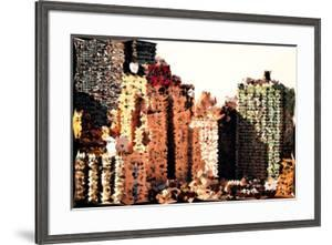Low Poly New York Art - The New Yorker by Philippe Hugonnard