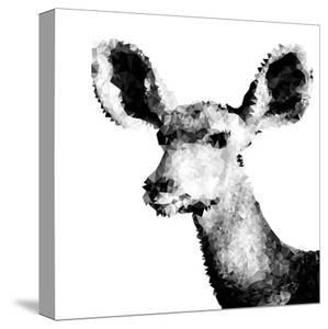 Low Poly Safari Art - Antelope - White Edition II by Philippe Hugonnard