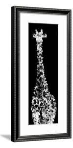 Low Poly Safari Art - Giraffes - Black Edition IV by Philippe Hugonnard
