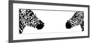 Low Poly Safari Art - Zebras - White Edition II by Philippe Hugonnard