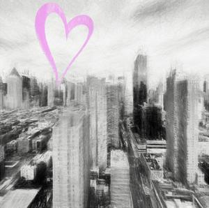 Luv Collection - New York City - Manhattan II by Philippe Hugonnard
