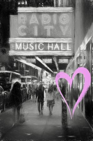 Luv Collection - New York City - Radio City Music Hall by Philippe Hugonnard