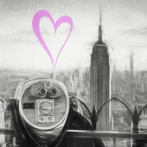 Luv Collection - New York City - Telescope II by Philippe Hugonnard