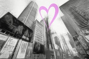 Luv Collection - New York City - Times Square II by Philippe Hugonnard