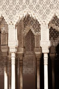 Made in Spain Collection - Arabic Arches in Alhambra III by Philippe Hugonnard