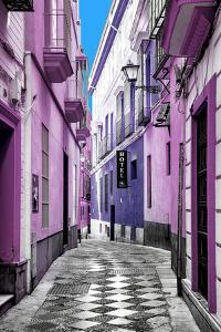 Made in Spain Collection - Colourful Pedestrian Street in Seville II by Philippe Hugonnard