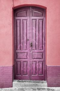 Made in Spain Collection - Pink Door in Seville by Philippe Hugonnard