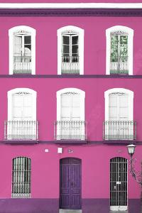 Made in Spain Collection - Pink Facade of Traditional Spanish Building by Philippe Hugonnard