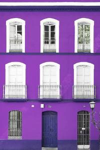 Made in Spain Collection - Purple Facade of Traditional Spanish Building by Philippe Hugonnard