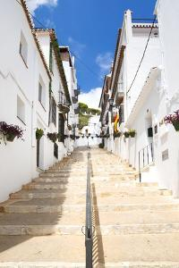 Made in Spain Collection - White village Staircase by Philippe Hugonnard