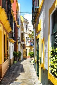 Made in Spain Collection - Yellow Street in Seville by Philippe Hugonnard