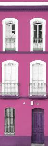 Made in Spain Slim Collection - Pink Facade of Traditional Spanish Building by Philippe Hugonnard
